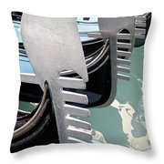 Gondola In Line Throw Pillow