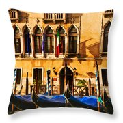 Gondola Parking Only Throw Pillow