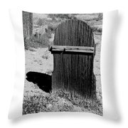 Gone And Forgotten Throw Pillow