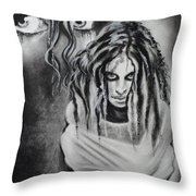 Gone For A While Throw Pillow