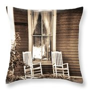Gone Throw Pillow by Julie Palencia