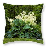 Gone To Flower Throw Pillow