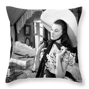 Gone With The Wind, 1939 Throw Pillow