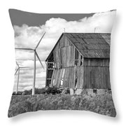 Gone With The Wind 3 Bw Throw Pillow
