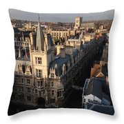 Gonville And Caius College Throw Pillow