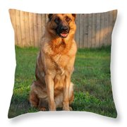 Good Boy Throw Pillow