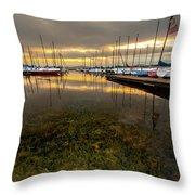 Good Day To Sail Throw Pillow