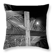 Good  Friday  In  Black  And  White Throw Pillow