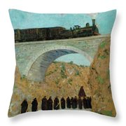 Good Friday In Castile Throw Pillow