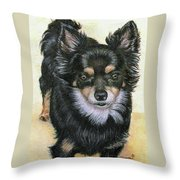 Good Golly Miss Molly Throw Pillow