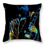 Good Guitar Vibrations Throw Pillow