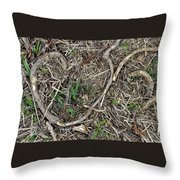 Good Hearts Are Everywhere - Grounded Throw Pillow