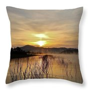 Good Morning   God Throw Pillow