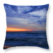 Good Morning - Jersey Shore Throw Pillow