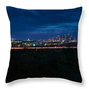 Good Morning Austin Throw Pillow
