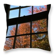 Good Morning Autumn Throw Pillow