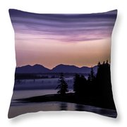 Good Morning Throw Pillow by Blanca Braun