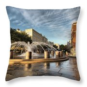 Good Morning Charleston Throw Pillow