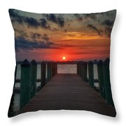 Good Morning Fort Myers Throw Pillow