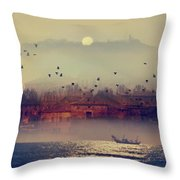 Good Morning Italy Throw Pillow