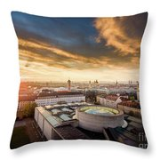 Good Morning  Munich Throw Pillow