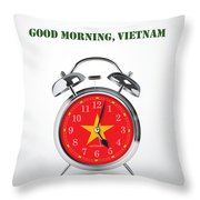 Good Morning, Vietnam - Alternative Movie Poster Throw Pillow