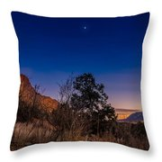 Good Night God's Garden 3 Throw Pillow