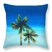 Good Night, La Throw Pillow