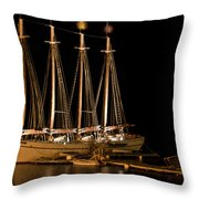Good Night Margaret Throw Pillow