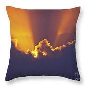 Good Night Sunshine Throw Pillow