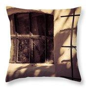 Good Old Sun Throw Pillow