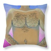 Good Parts Throw Pillow