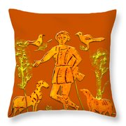 Good Shepherd Throw Pillow