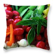 Good Stuff Throw Pillow