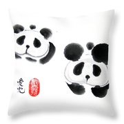 Good Things Come In Pairs Throw Pillow