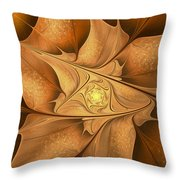 Goodbye Summer-welcome Autumn Throw Pillow