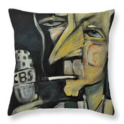 Goodnight And Good Luck Throw Pillow