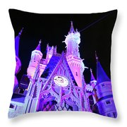 Goodnight Cinderella Throw Pillow