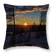 Goodnight Montana Throw Pillow