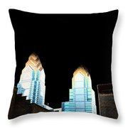 Goodnight Philly Throw Pillow