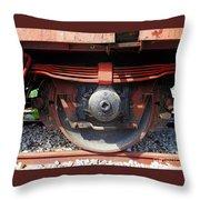 Goods Wagon Wheel Throw Pillow