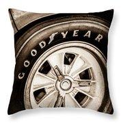 Goodyear Tire -0250s Throw Pillow