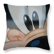 Goofy Throw Pillow