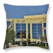 Google Orange County Throw Pillow