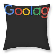 Goolag Throw Pillow