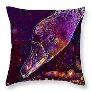 Goose Bird Feather Water Bird  Throw Pillow