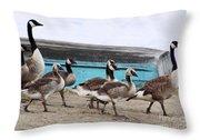 Goose Crossing Mayville Park Throw Pillow