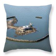 Goose Island Close Throw Pillow