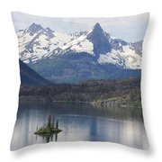Goose Island Throw Pillow