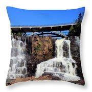 Gooseberry Falls 3 Throw Pillow